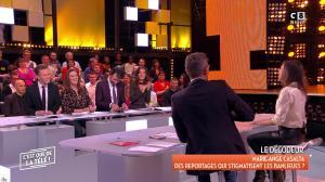 Marie Ange Casalta dans c'est Que de la Télé - 12/01/18 - 05
