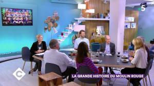Anne-Elisabeth Lemoine dans C à Vous - 04/10/19 - 06