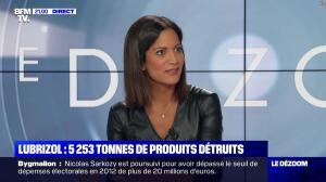 Aurélie Casse dans le Dezoom - 01/10/19 - 04