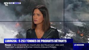 Aurélie Casse dans le Dezoom - 01/10/19 - 09