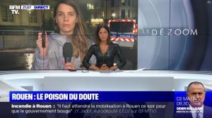 Aurélie Casse dans le Dezoom - 01/10/19 - 11