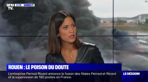 Aurélie Casse dans le Dezoom - 01/10/19 - 14