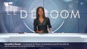 Aurélie Casse dans le Dezoom - 01/10/19 - 15