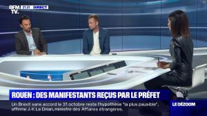 Aurélie Casse dans le Dezoom - 01/10/19 - 16