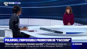 Aurélie Casse dans le Dezoom - 12/11/19 - 09