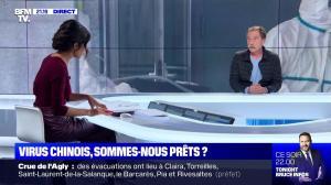 Aurélie Casse dans le Dezoom - 22/01/20 - 12