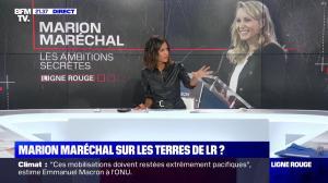 Aurélie Casse dans Ligne Rouge - 23/09/19 - 02