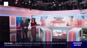 Aurélie Casse dans Première Edition - 31/10/19 - 01