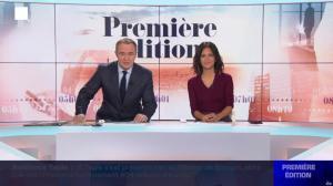 Aurélie Casse dans Première Edition - 31/10/19 - 02