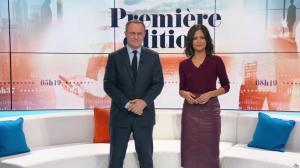 Aurélie Casse dans Première Edition - 31/10/19 - 07