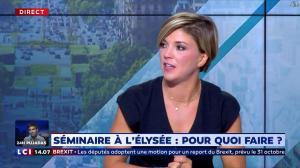 Bénédicte Le Chatelier dans le Club Le Chatelier - 04/09/19 - 06
