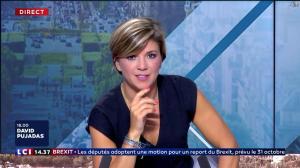 Bénédicte Le Chatelier dans le Club Le Chatelier - 04/09/19 - 08