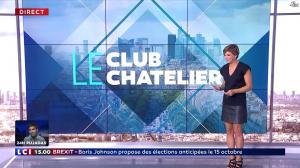 Bénédicte Le Chatelier dans le Club Le Chatelier - 04/09/19 - 10