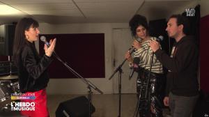 Erika Moulet et une Inconnue dans l'Hebdo de la Musique - 29/02/20 - 04