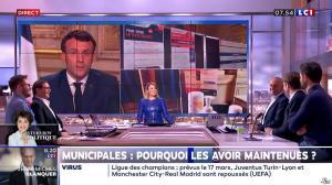 Pascale De La Tour Du Pin dans la Matinale - 13/03/20 - 08