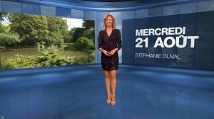 Stéphanie Duval à la Météo - 21/08/19 - 01