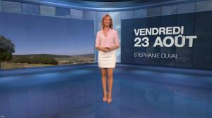 Stéphanie Duval à la Météo - 23/08/19 - 01