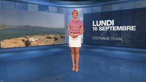 Stéphanie Duval à la Météo du Soir - 16/09/19 - 01