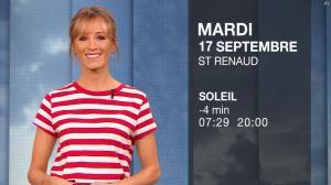 Stéphanie Duval à la Météo du Soir - 16/09/19 - 04