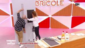 Caroline Ithurbide dans Ensemble On Bricole - 10/04/21 - 16