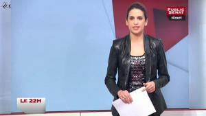Sonia Mabrouk dans le 22h - 19/01/11 - 1