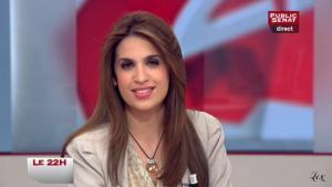 Sonia Mabrouk dans le 22h - 22/03/11 - 1
