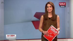 Sonia Mabrouk dans le 22h - 28/03/11 - 1