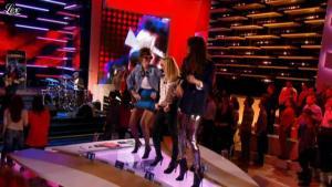 Audrey Lamy, Daphné Burki et Doria Tillier dans le Grand Journal de Canal Plus - 14/11/12 - 02