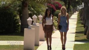 Caroline Receveur et Ayem dans Hollywood Girls - 01/10/12 - 09