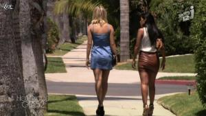Caroline Receveur et Ayem dans Hollywood Girls - 01/10/12 - 11