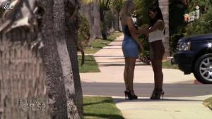 Caroline Receveur et Ayem dans Hollywood Girls - 01/10/12 - 12