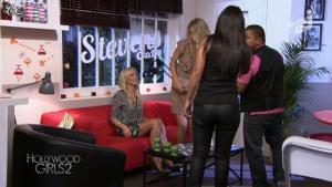 Caroline Receveur et Ayem dans Hollywood Girls - 16/10/12 - 05