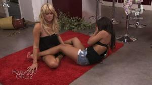 Caroline Receveur et Laura Coll dans Hollywood Girls - 04/11/12 - 02