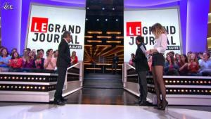 Daphné Burki dans le Grand Journal de Canal Plus - 26/10/12 - 04