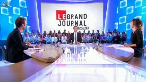 Daphné Burki dans le Grand Journal de Canal Plus - 30/08/12 - 01