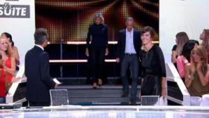 Daphné Burki dans le Grand Journal de Canal Plus - 30/08/12 - 02