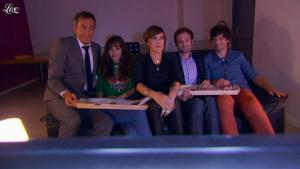 Daphné Burki dans le Grand Journal de Canal Plus - 30/08/12 - 04