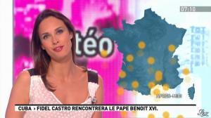 Julia Vignali dans la Matinale - 28/03/12 - 02