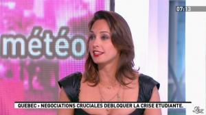 Julia Vignali dans la Matinale - 29/05/12 - 05