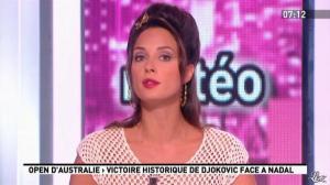 Julia Vignali dans la Matinale - 30/01/12 - 05