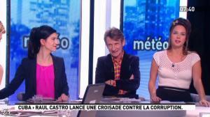 Julia Vignali dans la Matinale - 30/01/12 - 06