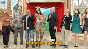 Laura Barriales et Lorena Bianchetti dans Mezzogiorno in Famiglia - 14/01/12 - 01