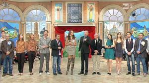 Laura Barriales et Lorena Bianchetti dans Mezzogiorno in Famiglia - 14/01/12 - 02