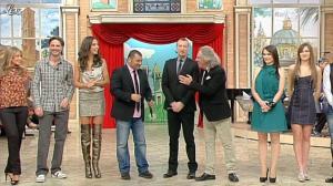 Laura Barriales et Lorena Bianchetti dans Mezzogiorno in Famiglia - 14/01/12 - 04