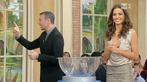 Laura Barriales dans Mezzogiorno in Famiglia - 14/01/12 - 08