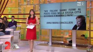 Lorena Bianchetti dans Italia Sul Due - 07/02/12 - 03