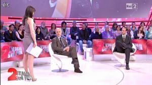 Lorena Bianchetti dans Italia Sul Due - 07/03/12 - 05