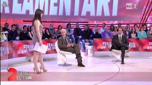 Lorena Bianchetti dans Italia Sul Due - 07/03/12 - 08