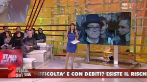 Lorena Bianchetti dans Italia Sul Due - 09/02/12 - 04
