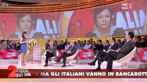 Lorena Bianchetti dans Italia Sul Due - 09/02/12 - 05